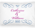 Personalized Pillow Case Set - Wedding