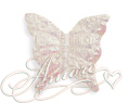 White Iridescent Silk Butterflies Wedding 200