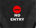 No Entry Sexy Thong Underwear