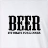 Beer Its Wants For Dinner Long Sleeve T-shirt