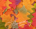Silk Oak Fall Leaves Wedding 200
