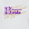 Ladies V Neck T-Shirt Story Of The Bride T-shirt