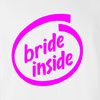 Bride Inside Wedding T Shirt