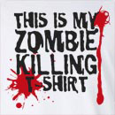 Halloween This is My Zombie Killing Long Sleeve T-Shirt