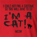Halloween I'm a Cat! Meow Long Sleeve T-Shirt