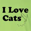 I Love Cats Long Sleeve T-Shirt