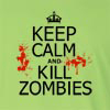 Keep Calm and Kill Zombies Long Sleeve T-Shirt