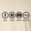 Bad Good Great Perfect Life - Subaru  Long Sleeve T-Shirt