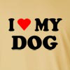I Love my Dog  Long Sleeve T-Shirt