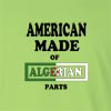 American Made of Algerian Parts Long Sleeve T-Shirt