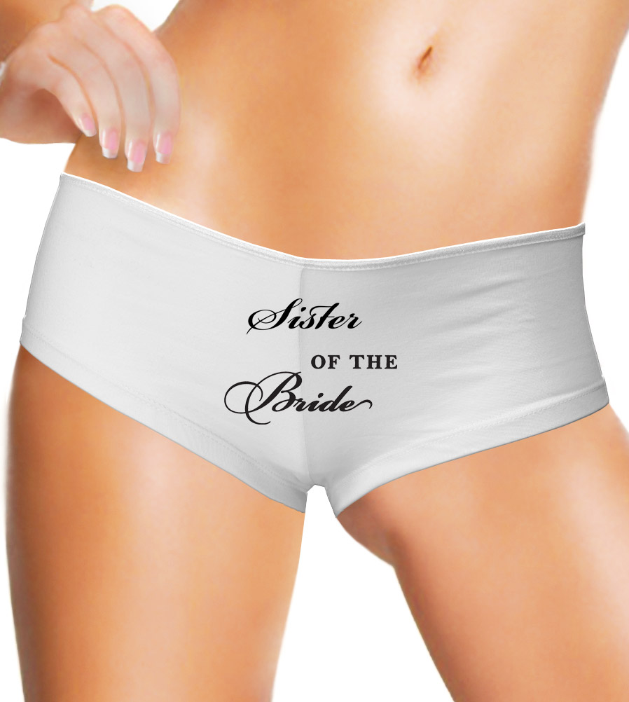 Sister of the Bride - Bella Hot Short Underwear